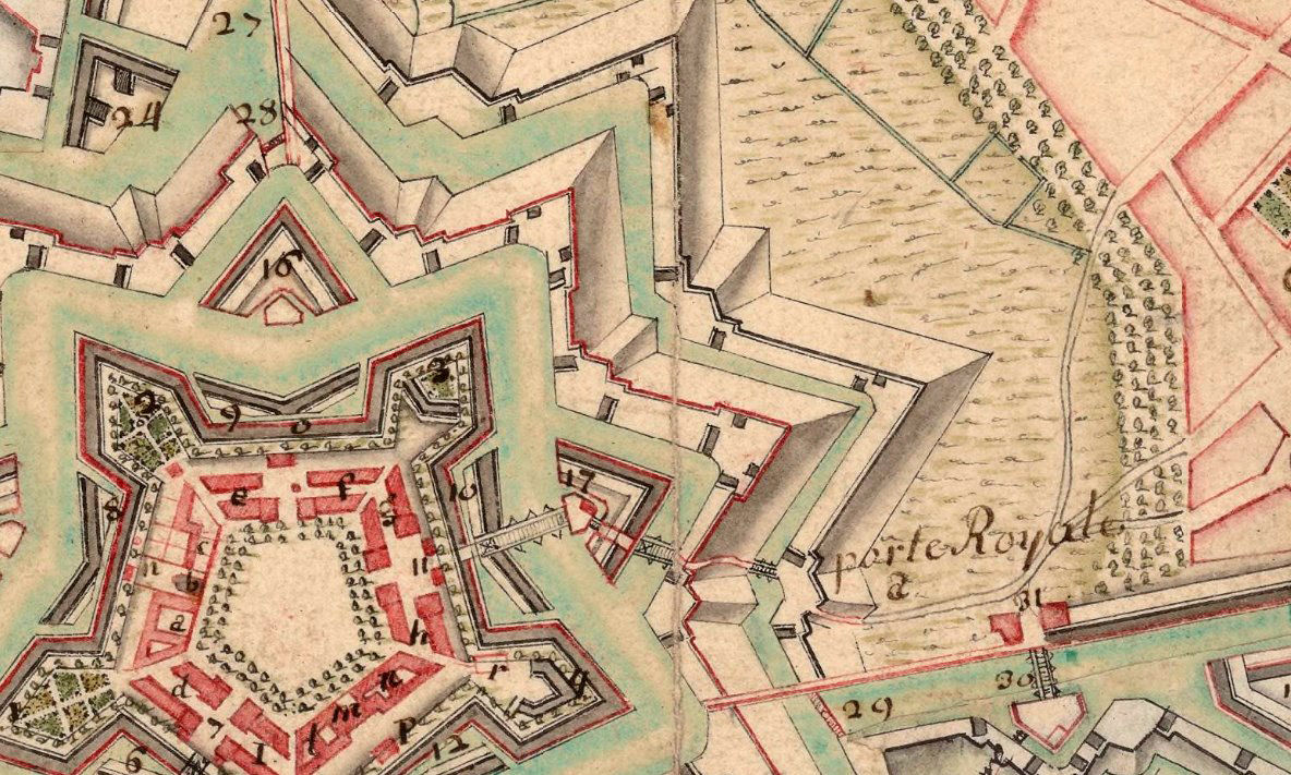 Old Map of Lille France 1717 - product images  of