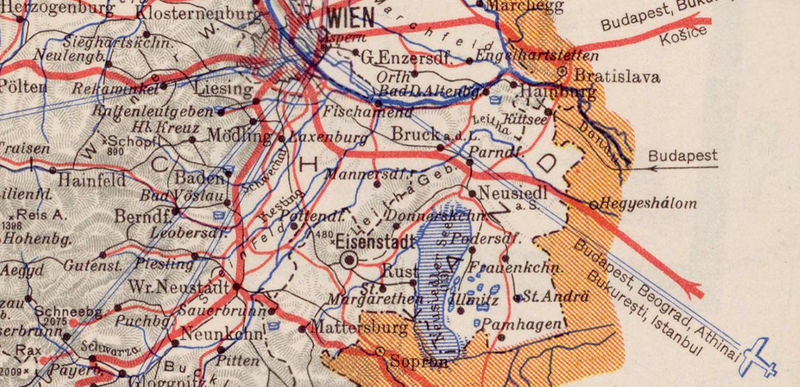 Old Map of Austria 1932 - product image