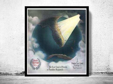 Vintage,Poster,of,Florida,1898,Art,Reproduction,Open_Edition,vintage,plan,United_States,USA,city_map,retro,antique,florida,paradise,florida_map,florida_poster,florida_vintage,florida_gift