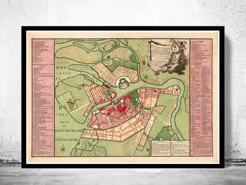 Old,Map,of,Saint,Petersburg,1776,old maps for sale, vin,vintage,plan,russia,petersburg,saint,petersburga,petersburg_map,petersburg_vintage,old_pertersburg,petersbourg_map,petersbourg_city,petersbourg_russia