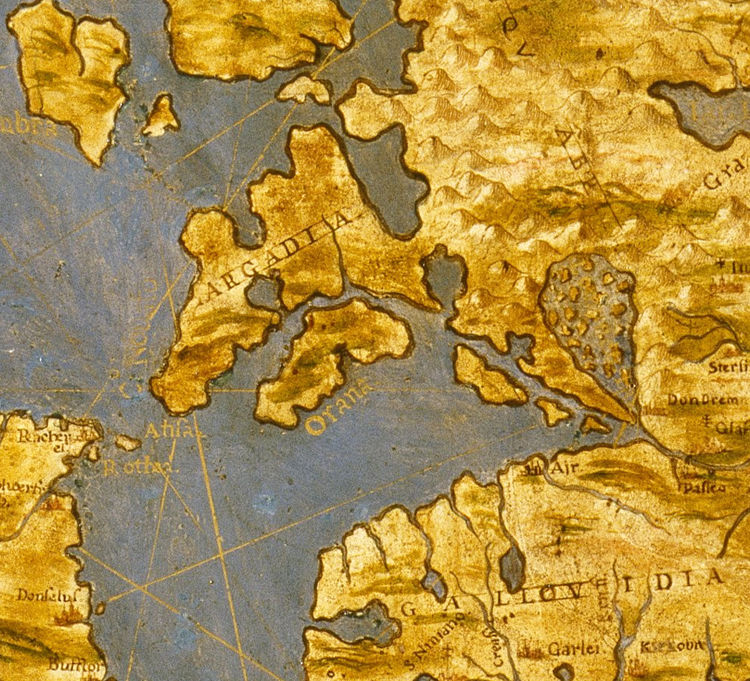 Old Map of United Kingdom Great Britain 1565 - product image
