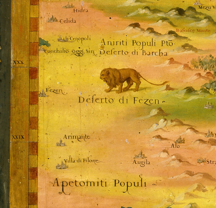 Old Map of Egypt 1578 - product image