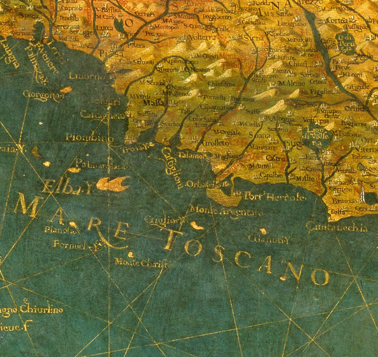 Old Map of Italy 1578 Italia - product image