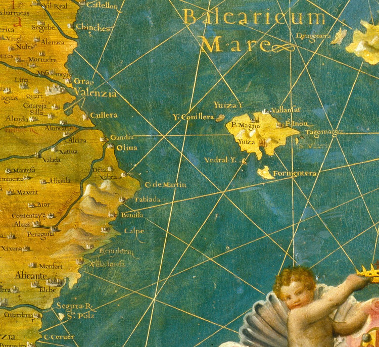 Old Map of Spain 1577 - product image