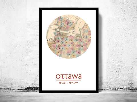OTTAWA,-,city,poster,map,print, OTTAWA print, OTTAWA poster, OTTAWA Poster, OTTAWA art, OTTAWA, OTTAWA map, wall decor, city,maps, travel poster
