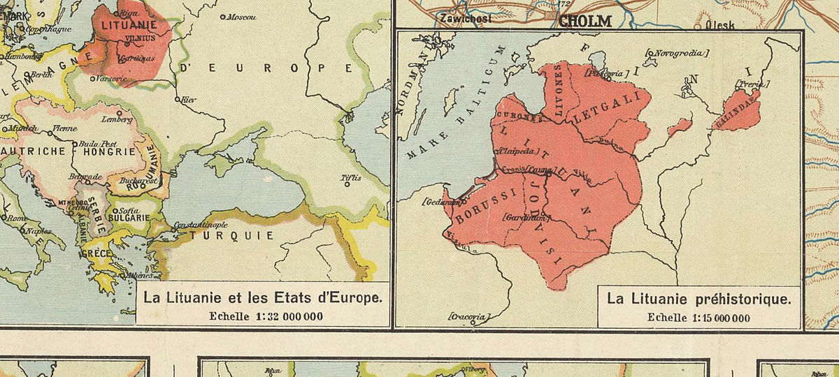 Old Map of Lithuania 1920 - product images  of