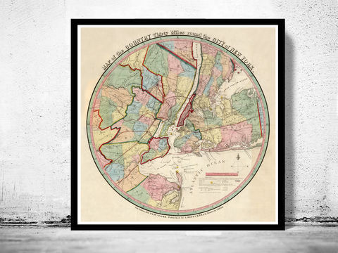 Old,Map,of,New,York,and,Environs,1839,Art,Reproduction,Open_Edition,United_States,Manhattan,new_york,old_map,vintage_map,new_york_map,manhattan_map,antique_map,new_york_poster,manhattan_poster,brooklyn_vintage,brooklyn_map,ny_map