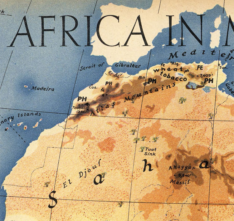 Africa in Maps 1941 - product image