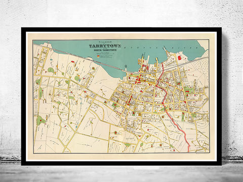 Old,Map,of,Tarrytown,New,York,1893,tarrytown, tarrytown map, tarrytown new york, tarrytown nt, tarrytown poster, tarrytown print, tarrytown plan, map of tarrytown