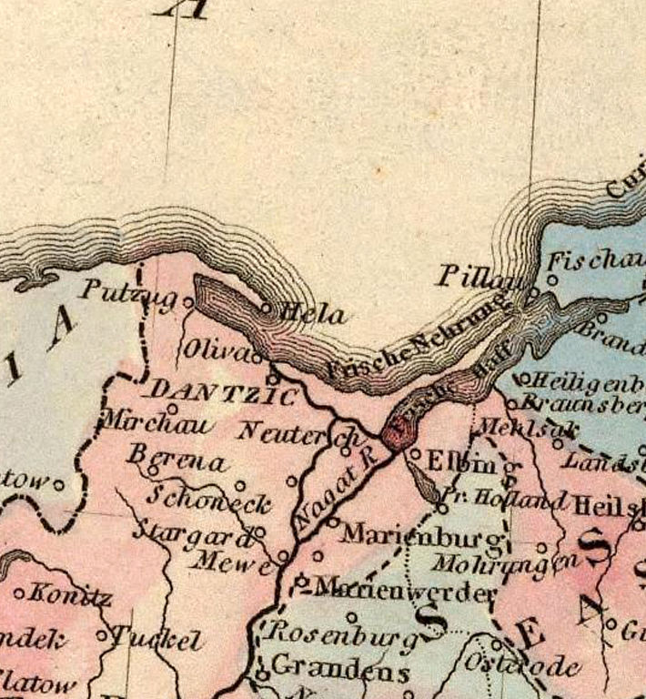 Old Map of Poland 1823 - product images  of