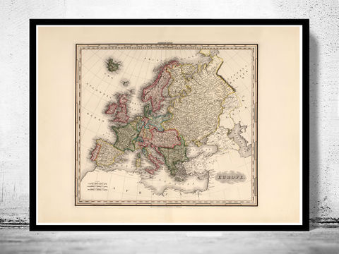 Old,Europe,Map,Antique,Atlas,1883,Art,Reproduction,Open_Edition,France,Italy,England,Greece,Poland,Sweden,Norway,europe_map,old_map,vintage_map,map_of_europe,europe_continent