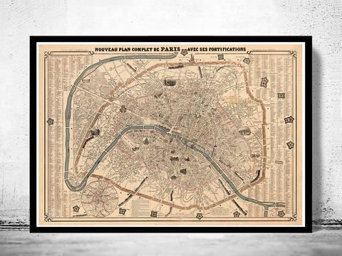 Old,Map,of,Paris,France,1855,paris, old map of paris, paris poster, oaris retro, vintage paris,Art,Reproduction,Illustration,france,vintage_map,old_map_of_paris,paris_map,map_of_paris,paris_poster,antique_paris,vintage_paris,paris_retro,old_paris,paris_plan,paris_decor