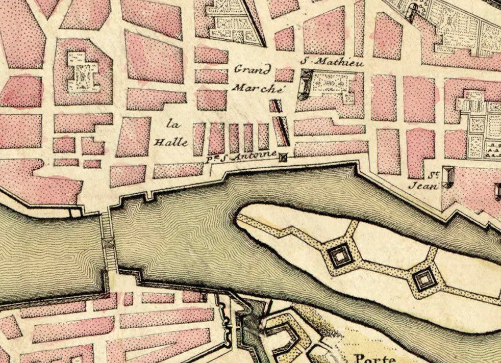 Old Map of Maastricht Netherlands 1700 - product images  of
