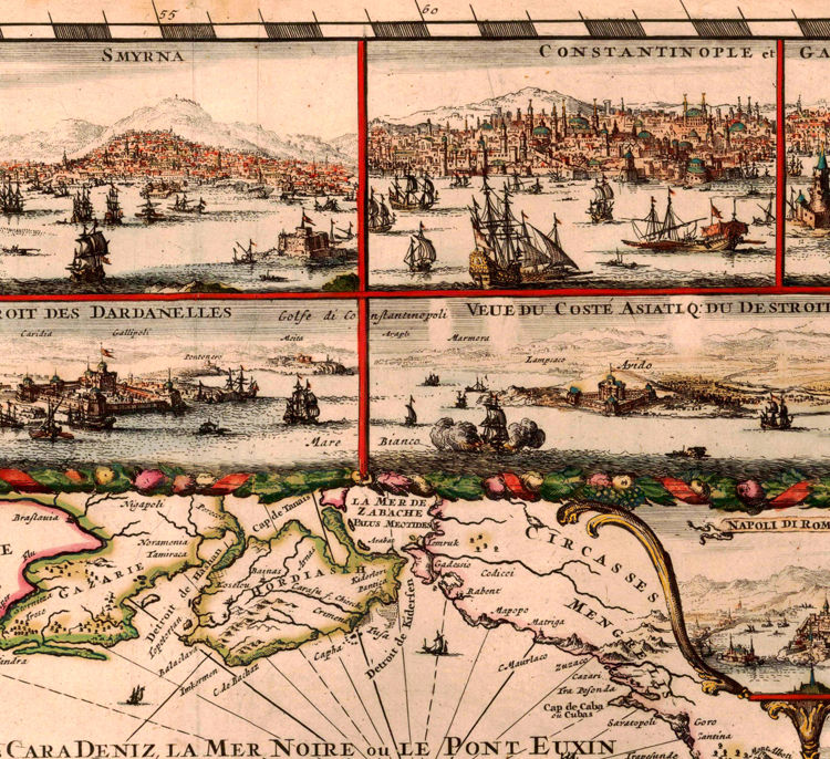 Old Map of Mediterranean Sea 1693 - product images  of