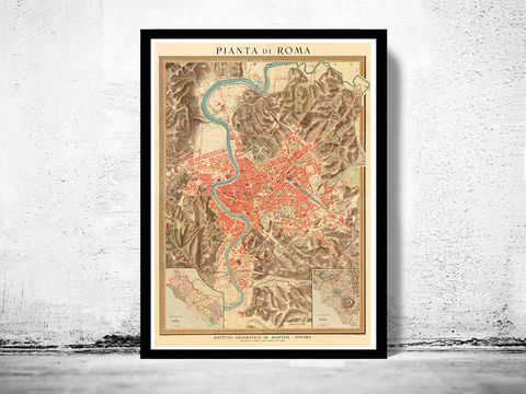 Old,Map,City,Plan,of,Rome,Roma,Italia,1910,old maps of rome, roma antiqua, antique rome, old map of roma, mapa di roma, Art,Reproduction,Open_Edition,city_map,retro,antique,Europe,rome,roma,italy,italia,vintage_map,city_plan,old_map,map_of_rome,rome_map