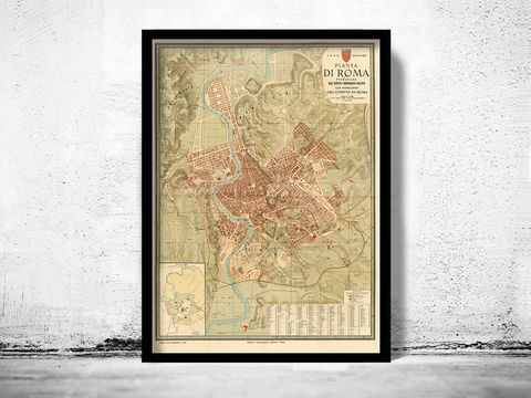 Old,Map,City,Plan,of,Rome,Roma,Italia,1891,old maps of rome, roma antiqua, antique rome, old map of roma, mapa di roma, Art,Reproduction,Open_Edition,city_map,retro,antique,Europe,rome,roma,italy,italia,vintage_map,city_plan,old_map,map_of_rome,rome_map