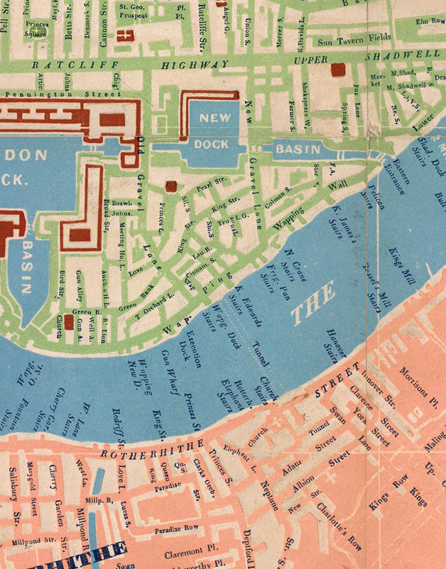 Old Map of London 1841 - product image