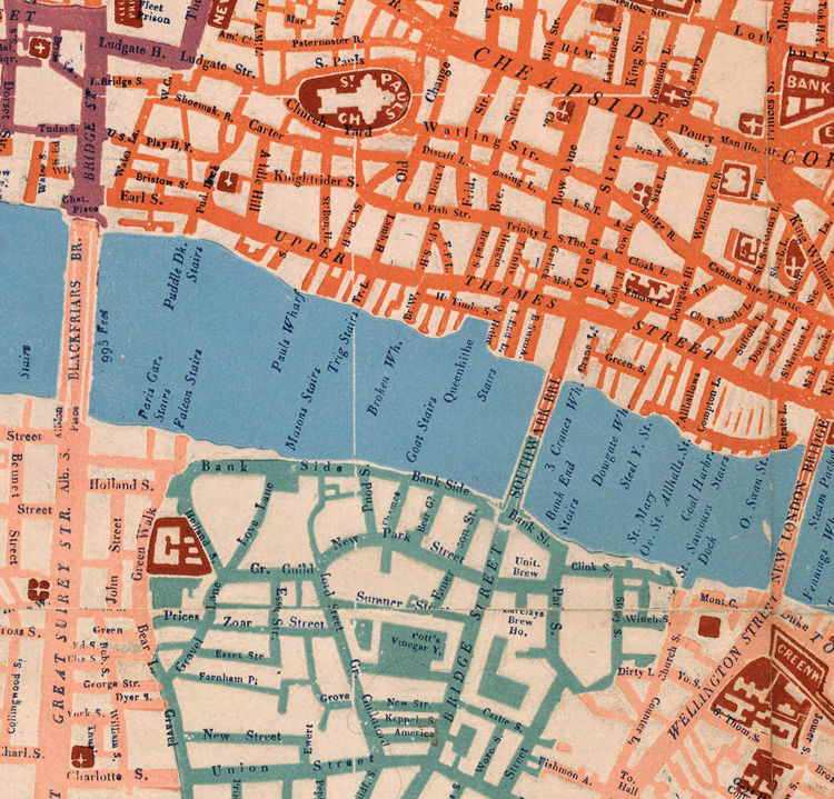 Old Map of London 1841 - product images  of