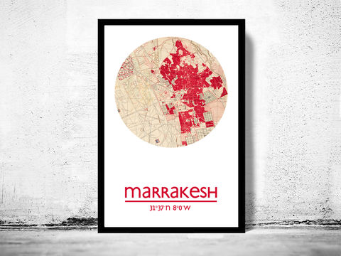 MARRAKESH,-,city,poster,map,print, MARRAKESH print, MOROCCO poster, AFRICAN Poster, MOROCCO art, MARRAKESH , MARRAKESH map, wall decor, city,AFRICAN art,maps, travel poster