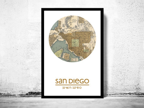SAN,DIEGO,CA,-,city,poster,map,print, SAN DIEGO print,SAN DIEGO CA poster, SAN DIEGO Poster,SAN DIEGO CA, SAN DIEGO map, wall decor, city,maps, travel poster