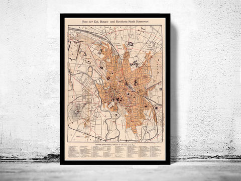 Old,Map,of,Hanover,Germany,1890,Hannover,hannover map, Art,Reproduction,Open_Edition,old_map,vintage_map,hanover_map,map_of_berlin,deutshland,old_berlin,hanover_poster,vintage_hanover,old_hanover_map,old_map_of_berlin,antique_hanover