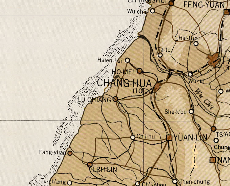 Old Map of Taiwan - product image