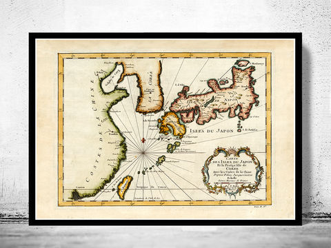 Old,Map,of,Japan,1735,Art,Reproduction,Open_Edition,vintage,japan_sea,japan,tokyo,old_map,vintage_map,japan_map,map_of_japan,japan_decor,japanese,japan_art,japan_poster,asia
