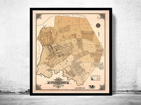Old,Map,of,Flushing,New,York,1894,flushing new york, flushing map, map of flushing, flushing ny, flushing poster, old map of flushing, flushing old map, flushing print