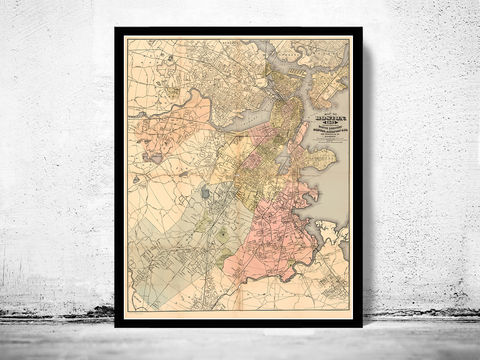 Old,Map,of,Boston,1883,Massachusetts,Art,Reproduction,Open_Edition,vintage,United_States,USA,city_map,retro,antique,old_map,vintage_map,boston_map,map_of_boston,boston_poster, boston map, map of boston , boston poster, antique map, vintage map