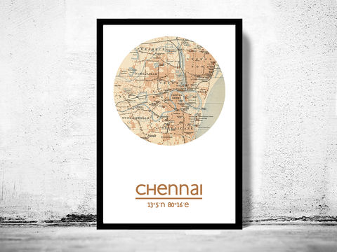 CHENNAI,-,city,poster,map,print, CHENNAI print, india poster, indian Poster, indian art, CHENNAI , CHENNAI map, wall decor, city,india art,maps, travel poster