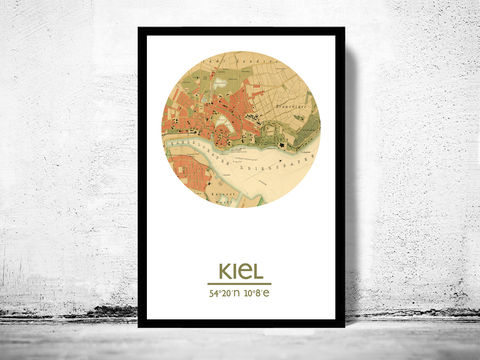KIEL,-,city,poster,map,print,Art,Reproduction,Open_Edition,berlin_print,berlin_poster,germany_Poster,germanic_art,berlin,berlin_map,wall_decor,asian_art,maps,travel_poster