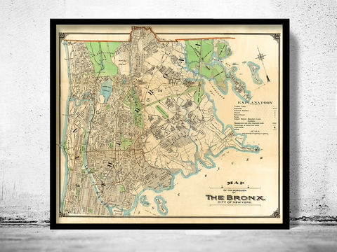 Old,Map,of,Bronx,New,York,1900,bronx new york, bronx map, map of bronx, bronx ny, bronx poster, old map of bronx, bronx old map, bronx print, old map of bronx ny
