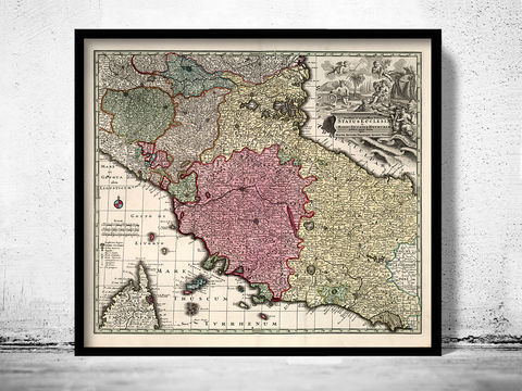 Old,Map,of,Tuscany,Toscana,Italy,1729,map of tuscany, mappa di toscana, toscana italy, umbria italy, umbria toscana, toscana map, tuscany italy, umbria tusca