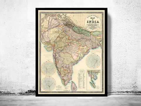 Old,Map,of,India,1859,Art,Reproduction,Open_Edition,plan,asia,asia_map,vintage_map,old_map_of_india,india_map,india_vintage_map,india_retro_map,South_east_Asia_map,India_vintage, asia map, map of asia, antique map, india map, old map of india, indian ar, india poster, map of i