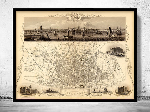 Old,Map,of,Liverpool,1851,Art,Reproduction,Open_Edition,vintage,illustration,gravure,vintage_map,city_plan,liverpool,England,United_Kingdom,old_map,city_map,liverpool_map,map_of_liverpool,antique_map