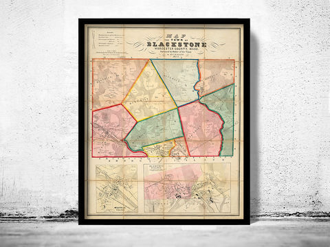 Old,Map,of,Blackstone,Massachusetts,1854,blackstone maps, old map of blacjstone, blackstone worcester map, map of clackstone massachusetts, old maps