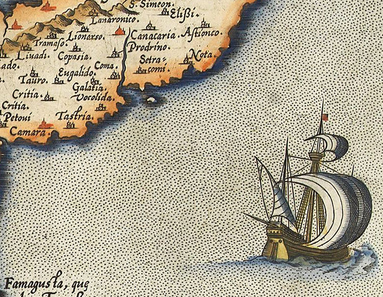 Old Map of Cyprus 1573 - product images  of