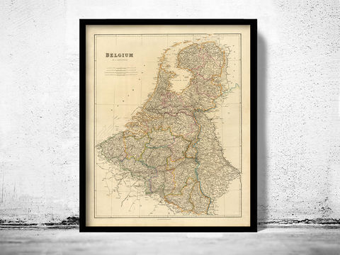 Old,Map,of,Belgium,1832,Art,Reproduction,Open_Edition,old_map,atlas,illustration,antique_map,belgium_map,old_belgium_map,historic_map,vintage_map