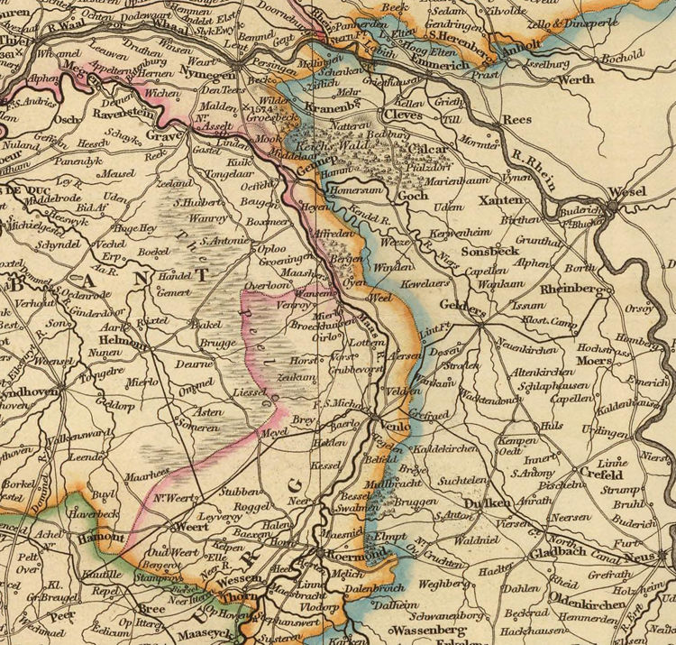 Old Map of Belgium 1832 - product images  of