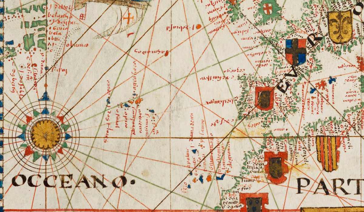 Old World Map Portuguese Discoveries 1573 - product images  of