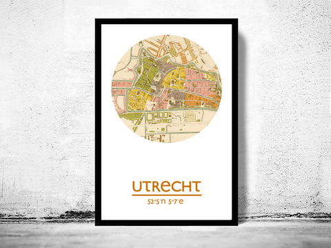 UTRECHT,-,city,poster,map,print,UTRECHT print, UTRECHT poster, NETHERLANDS Poster, UTRECHT art, UTRECHT, UTRECHT map, wall decor, city,maps, travel poster