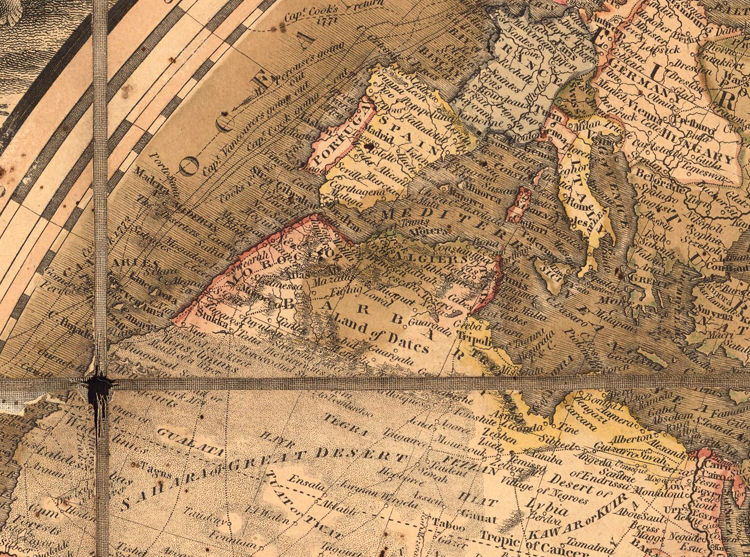 Antique World Map 1818 - product images  of