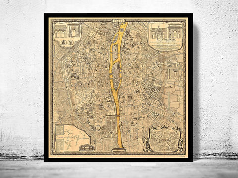 Old,Map,of,Paris,,France,1710,paris, old map of paris, paris poster, oaris retro, vintage paris,Art,Reproduction,Illustration,france,vintage_map,old_map_of_paris,paris_map,map_of_paris,paris_poster,antique_paris,vintage_paris,paris_retro,old_paris,paris_plan,paris_decor