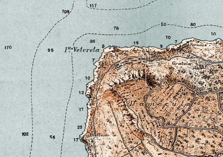 Old Map of Capri Italy  - product images  of