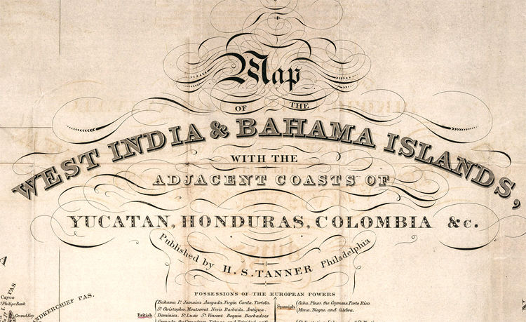 Old Map of Bahamas, Bahama Islands 1831 - product images  of