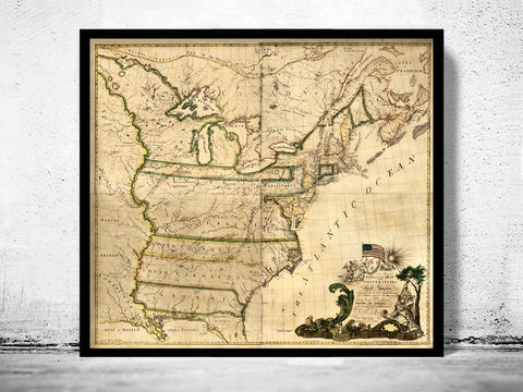 Antique,Map,of,United,States,1874,united states map, united states poster, united states of america, USA map, map of US, map of United states