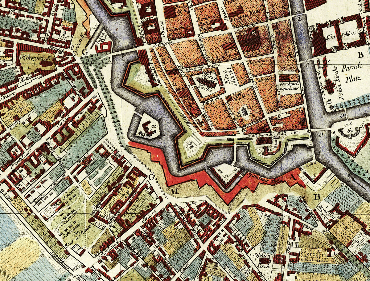 Old Map of Berlin, Germany 1760 Antique Vintage - product images  of
