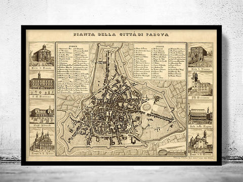 Old,Map,of,Padua,Padova,Italy,1840,Art,Reproduction,Open_Edition,city_map,antique,italy,italia,city_plan,vintage_poster,vintage_map,old_map,map_of_padua,padua_map,padua,map of padova,padova map