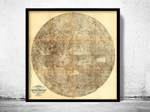 Old,Map,of,the,Moon,1894,Art,Reproduction,Open_Edition,vintage_map,globe,antique_map,celestial_map,planisphere_celeste,astronomical_map,moon map, moon phases, moon old print, moon phases poster, map of the moon, moon movements