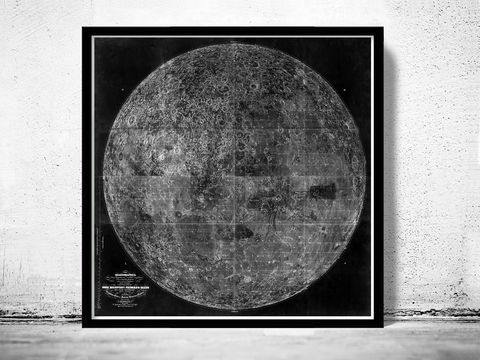 Old,Map,of,the,Moon,1894,-,Black,version,Art,Reproduction,Open_Edition,vintage_map,globe,antique_map,celestial_map,planisphere_celeste,astronomical_map,moon map, moon phases, moon old print, moon phases poster, map of the moon, moon movements